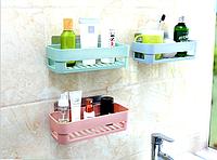 Полка для ванной комнаты на самоклеющейся основе