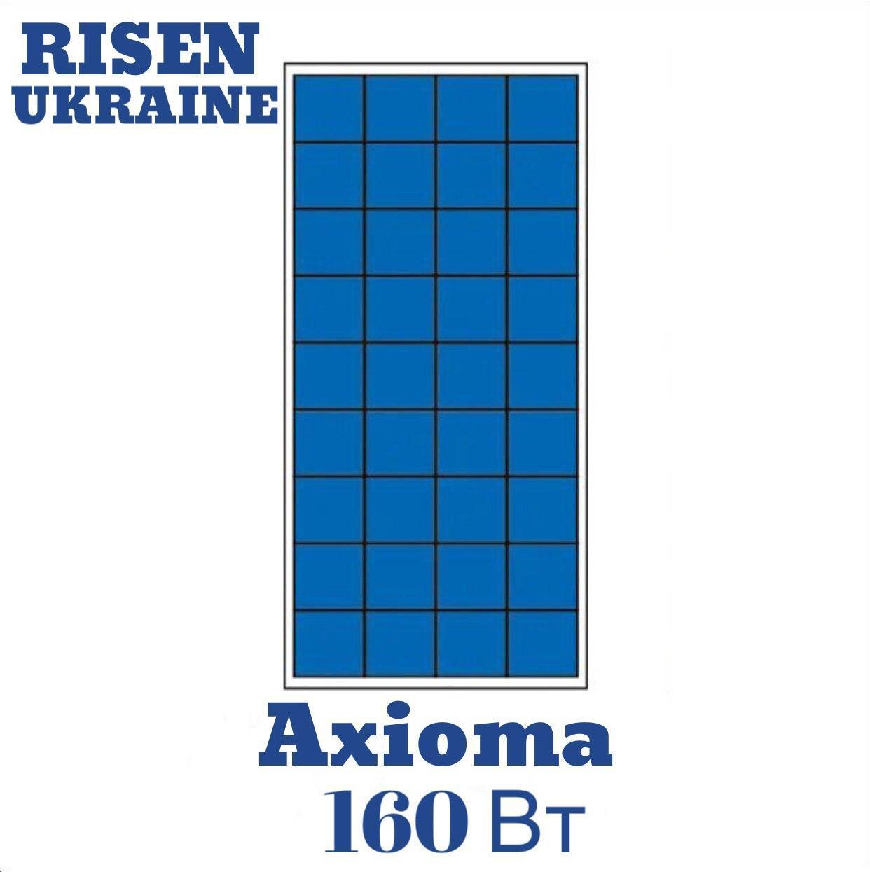 Солнечная батарея 160Вт поликристаллическая AX-160P AXIOMA energy