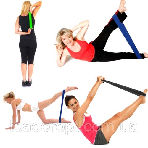 [ОПТ] Резинка для фитнеса и спорта (лента эспандер) эластичная U-Powex Набор из 5 резинок Оригинал