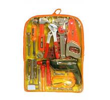 Набор инструментов в рюкзаке