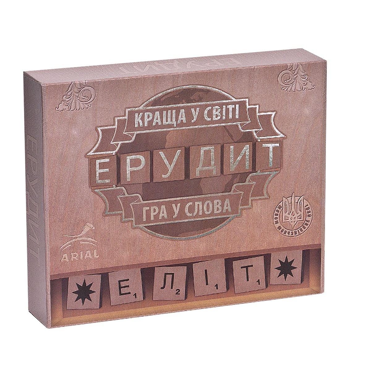 Настольная игра Эрудит-Элит (украинская версия)