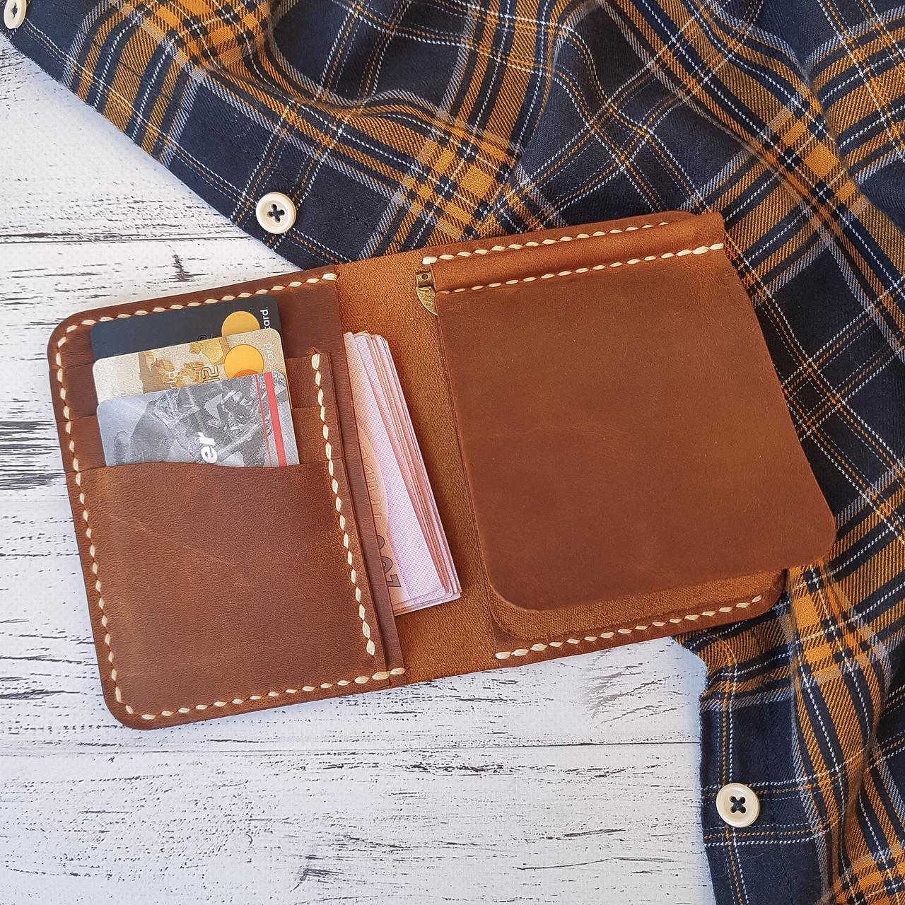Бумажник с зажимом кожаный Stedley