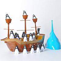 Игра улови баланс с Пингвинами Пиратский корабль, фото 1