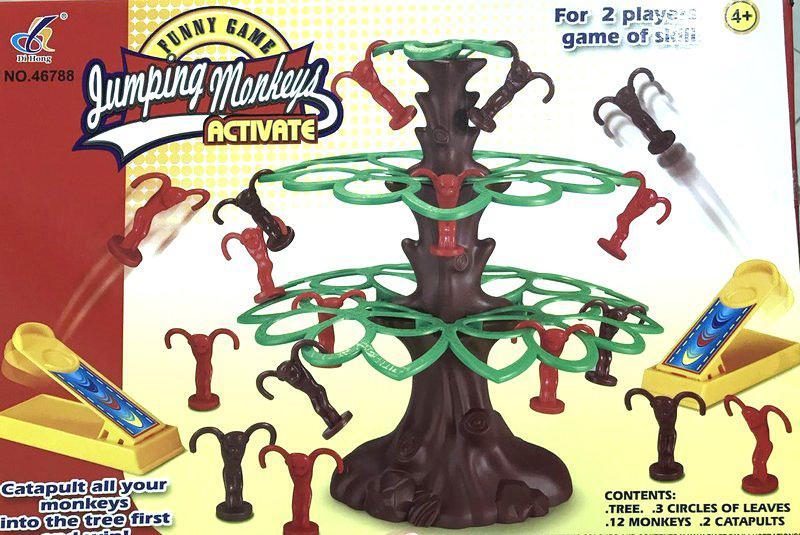 Детская игра Прыгающие обезьянки (JUMPING MONKEYS ACTIVATE)
