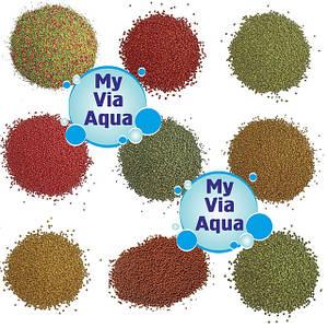 Корма в гранулах для аквариумных и прудовых рыб