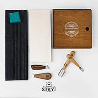 Набір стамесок для різьби по дереву для початківця від виробника STRYI