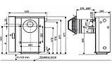 Парапетні газові котли DANI (ДАНИНИ) АОГВ-7,4 ліве і праве виконання, фото 3
