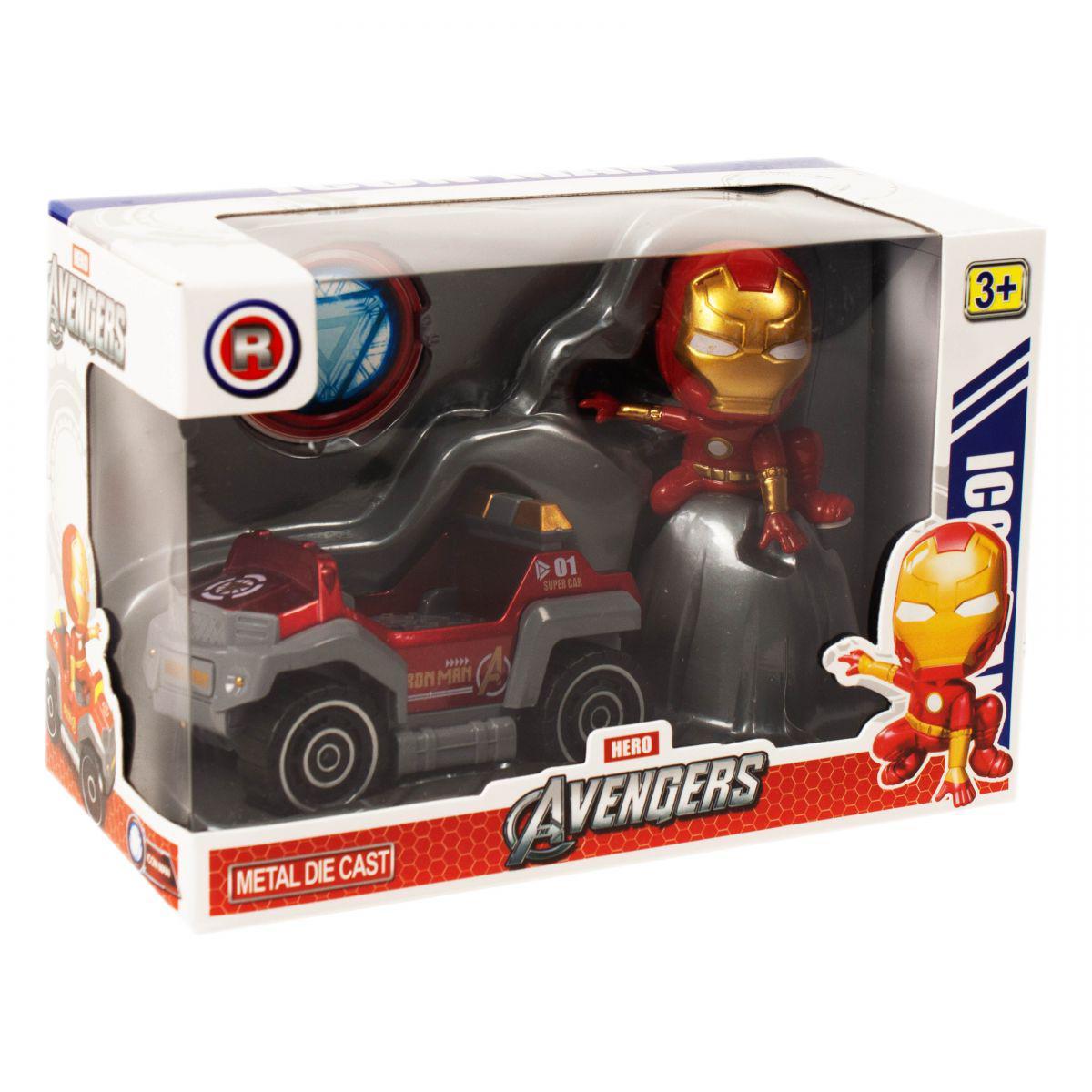 """Супергерой с машинкой """"Железный человек"""""""