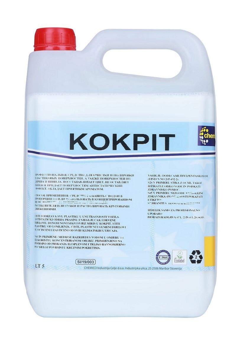 Chemico Кабіна поліроль пластика салону