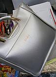 Женская Сумочка ZARA сумка с круглыми ручками. В расцветках., фото 3