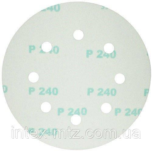 Шлифовальный круг на липучке S&R D190 P320 - фото 3