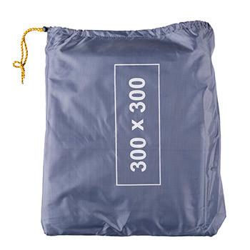 Пол дополнительный для палатки, тента, 300*300, серый