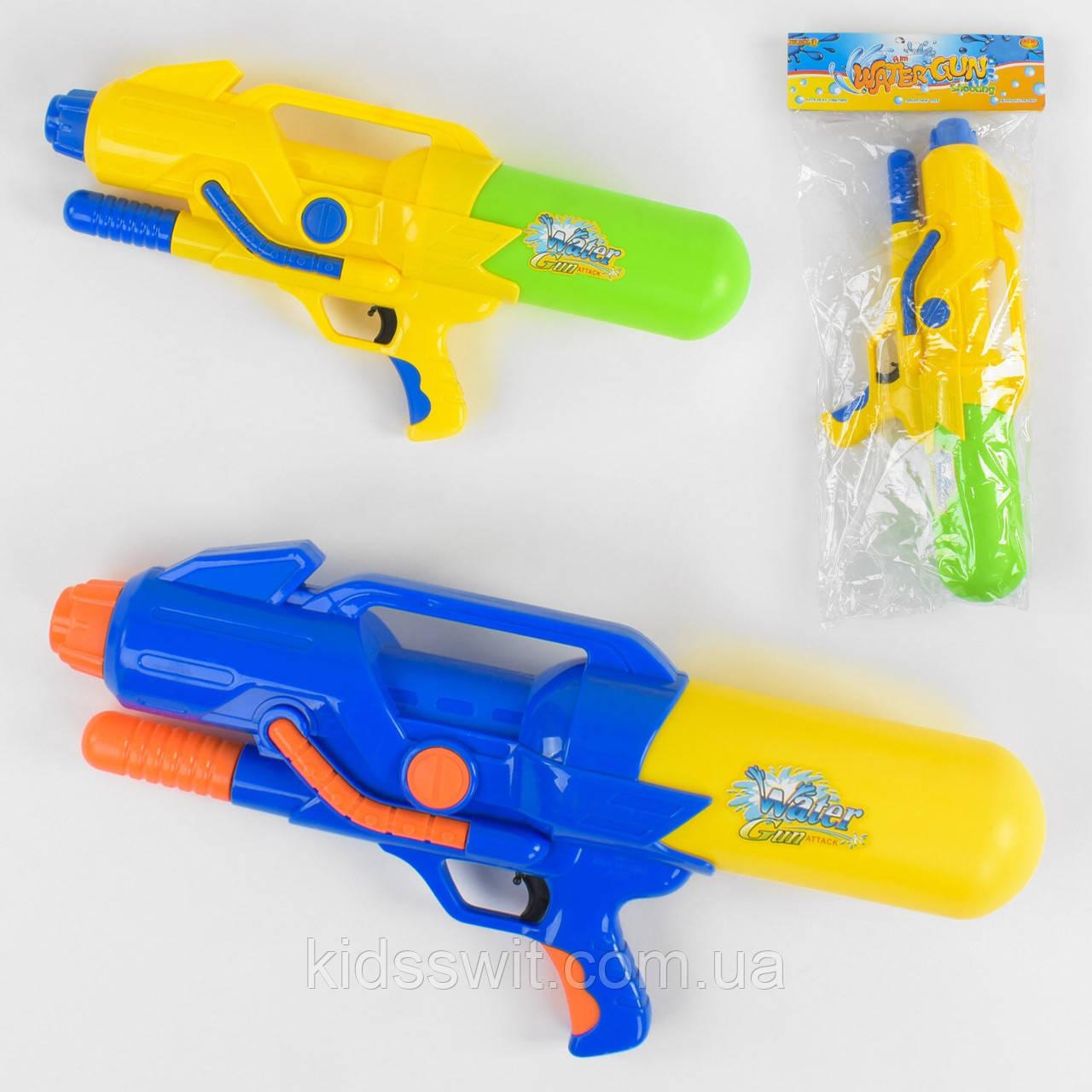 Водяний пістолет, з насосом, 2 кольори, A 157