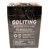 Аккумулятор свинцово-кислотный GDLITE GD-440(4V,4.0Ah)