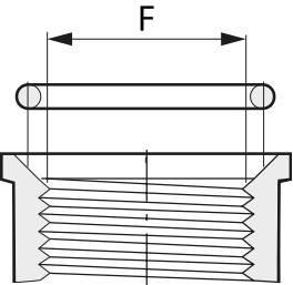 Прокладки для фитингов с уплотнительными кольцами EPDM, G10092