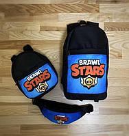 Детский рюкзак бананка товары для школьников маленький рюкзак