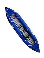 Надувная байдарка Red River 350, одноместный каяк для сплава, похода и рафтинга Редривер 350