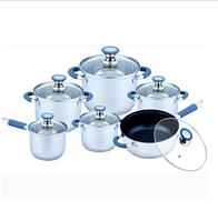 Набор посуды из нержавеющей стали Benson BN-193 (12 пр.)