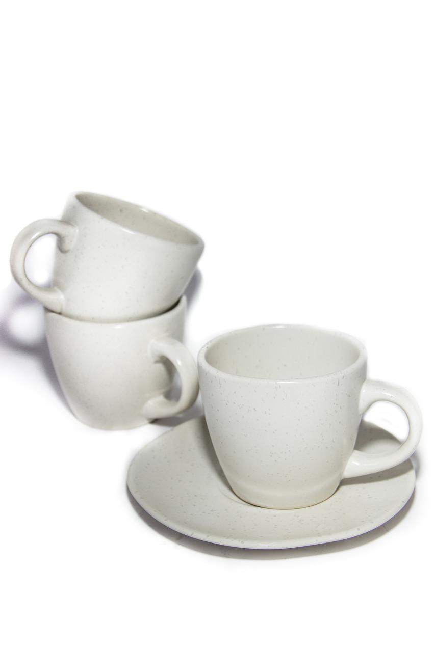 Чашка 300мл чайная Marble Cream А0431