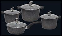Набор посуды с крышками Benson BN-333