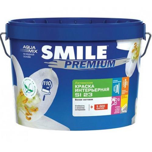 Краска интер латексная «SMILE®» PREMIUM SI23 Блеск 20 4.2кг/3л