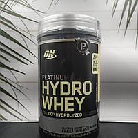 Гидролизат Platinum Hydro Whey 20 serv HydroWhey  800 г протеин белок optimum nutrition
