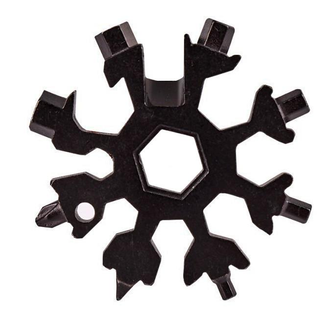 Універсальний ключ Сніжинка (чорний) Multitool Криву Tool гайковий (і не тільки) з доставкою