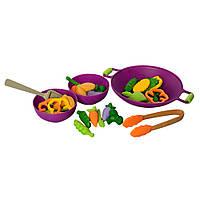 Продукты 2104F (Овощи) тарелка 3 шт и кухонные принадлежности