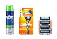 Набор для бритья Gillette Fusion