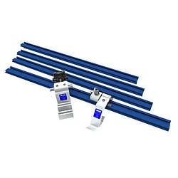 Набор рельс и упоров для торцовочной пилы или сверлильного станка