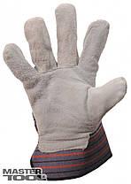 Перчатки кожаные с телячего спилка (арматурщика), фото 2