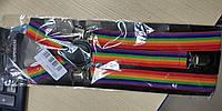 Подтяжки цветные радуга