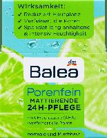 Матирующий крем для лица с фруктовыми кислотами Balea Porenfein Mattierende 24H-Pflege, 50 ml., фото 1