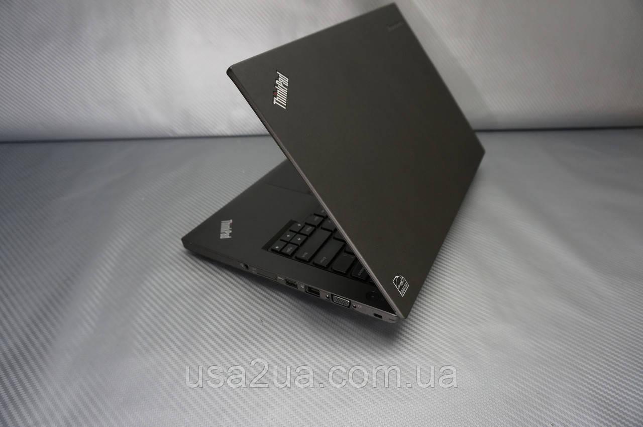 """Ультрабук Ноутбук Lenovo ThinkPad T450 i5 5gen 8GB ddr3 256GB ssd 14"""" Web Кредит Гарантия 15 часов от батареи"""