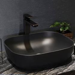 Накладна раковина для ванної Nordic Black Art. Модель RD-441 (50х40х14)