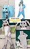 Теплая пижама костюм кигуруми бегемот Hippo, фото 3