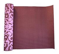 Йога-коврик LiveUp PVC PRINTED YOGA MAT 173х61х0.6см