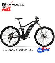 Электровелосипед 27.5 HAIBIKE SDURO FullSeven 3.0 двухподвес рама L черный (4540150948)