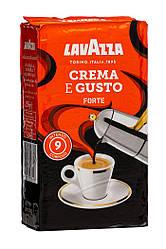 Кофе молотый Lavazza Crema e Gusto Forte 250гр., Лавацца Оригинал Италия!