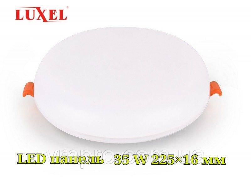 LED панель встраиваемая Luxel круглая, 35W 4000K (DDR-35N)