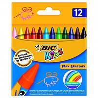 BiC Восковые мелки Kids Wax Crayons 12 цветов, 927829
