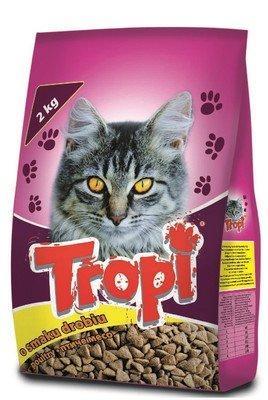 Сухой корм для кошек Tropi 10 кг