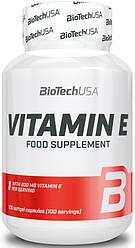 Витамины BioTech USA Vitamin E 100 caps