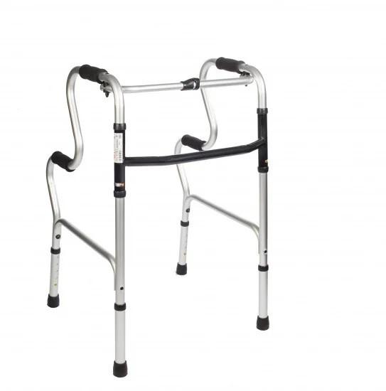 Ходунки двухуровневые 12853 Dr.Life складные медицинские алюминиевые для инвалидов, взрослых