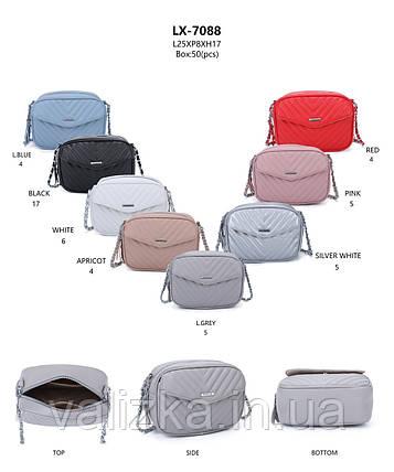Женская сумка кросс-боди весенняя, цвета в ассортименте, фото 2