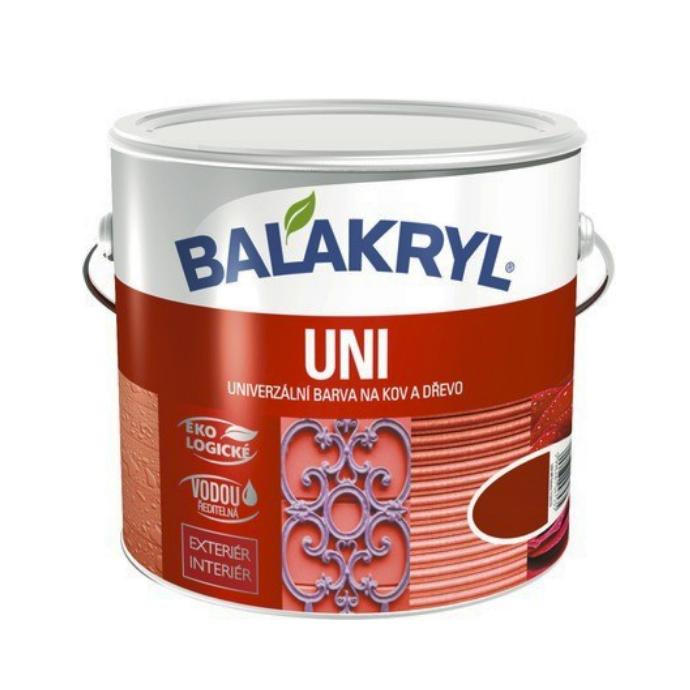 Универсальная краска для дерева и металла Balakryl Uni LESK, 2,5кг