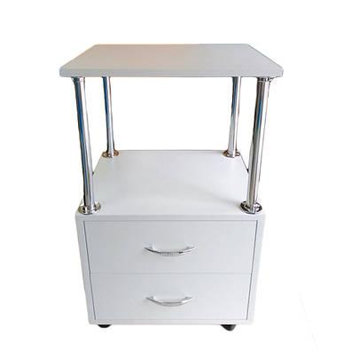 Тележка для маникюра (маникюрный передвижной столик) Лиа -2