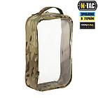 M-Tac органайзер утилітарний прозорий Elite Large (30х19 см) Multicam, фото 3