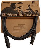 Мікрофонний кабель D`ADDARIO PW-CMIC-10 Classic Series Microphone Cable (3m)