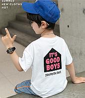 Стильні футболки для хлопчика / Стильные футболки для мальчика, кофта футболка на лето, летняя детская одежда